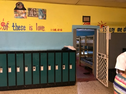 Lockers and Dorms